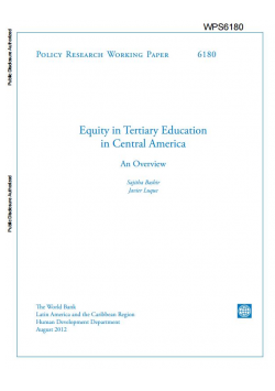 Equity in Tertiary Education in Central America