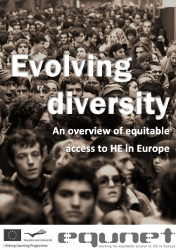 Evolving diversity. An overview of equitable Access to HE in Europe