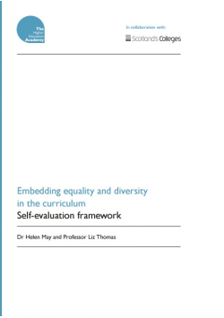 Embedding Equality and Diversity in the Curriculum: Self-evaluation framework
