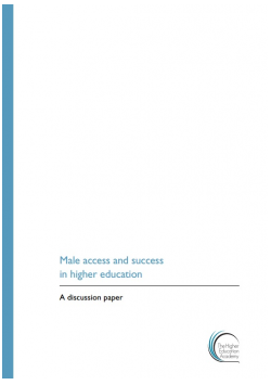 Male access and success in higher education: a discussion paper