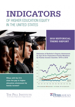 2018 Indicators of Higher Education Equity in the United States: Historical Trend Report