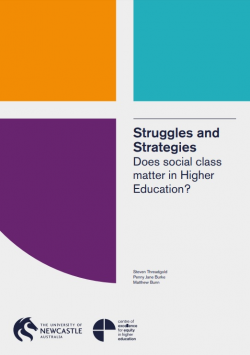 Struggles and strategies: does social class matter in higher education